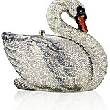 If investing in elegance is key for you, shop the Judith Leiber Couture Swan Crystal Minaudiere ($4,995).