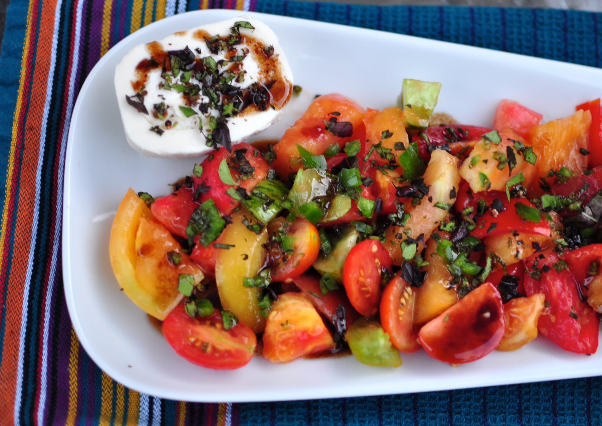 Caprese Salad Recipe Popsugar Food