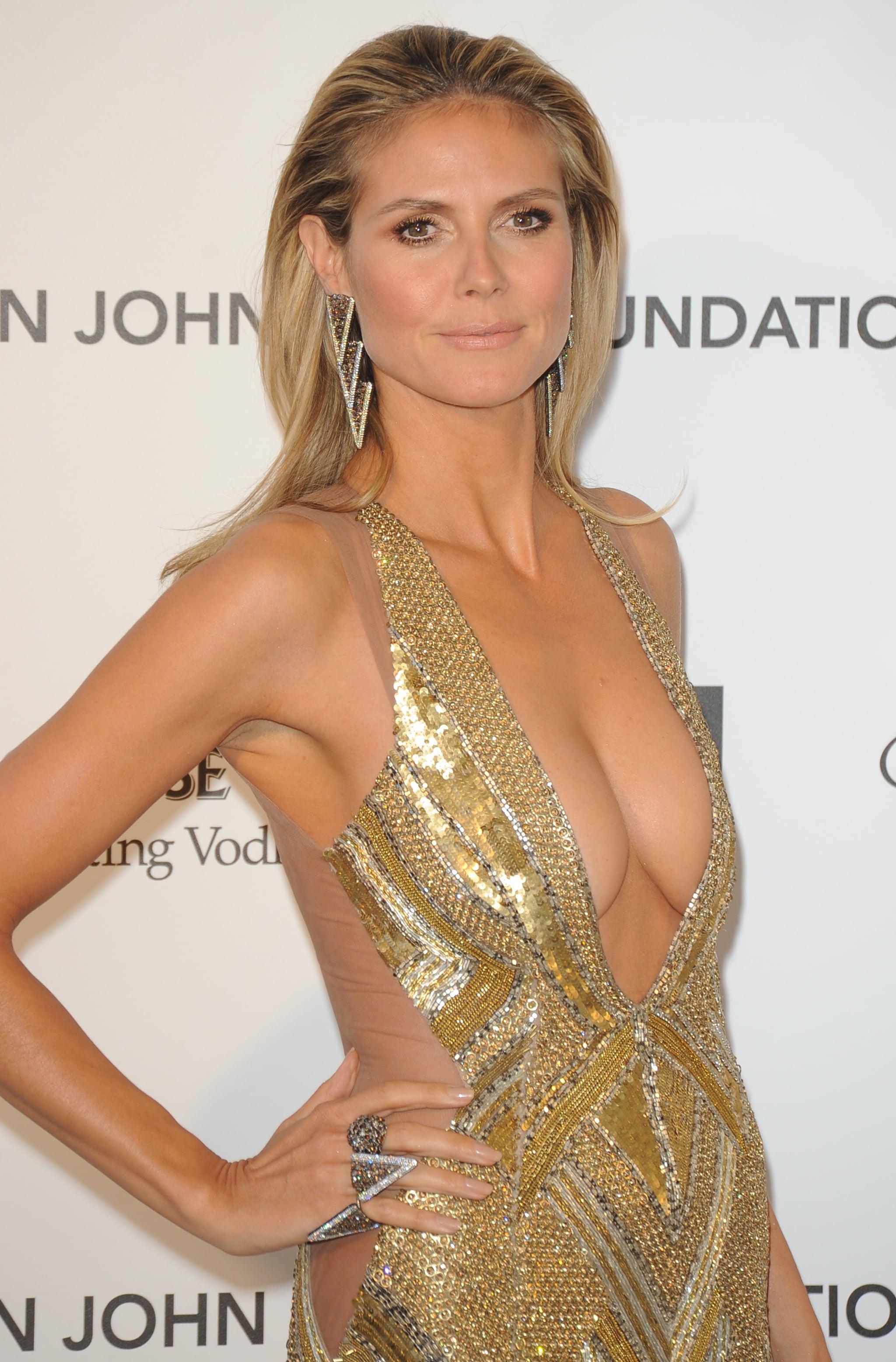 Heidi Klum at the 2013 Elton John Oscar Party.