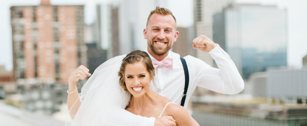 This CrossFit Couple Had a Deadlift Contest at Their Wedding
