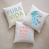 West Elm Slice of Summer Pillow Covers