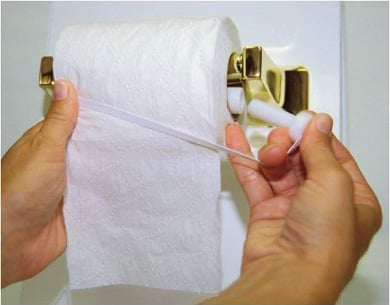 Toilet Paper Saver