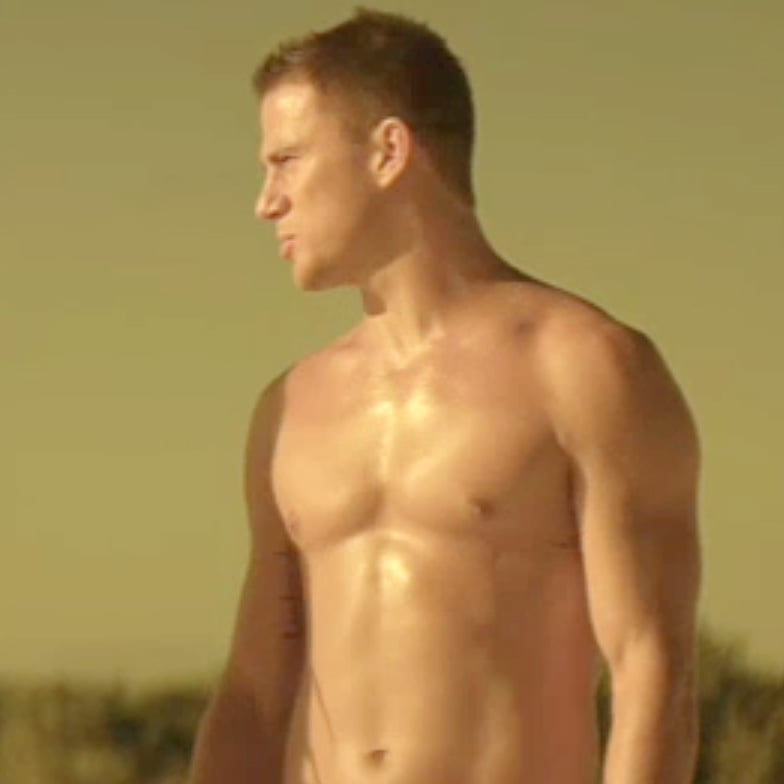 Shirtless Channing Tatum Magic Mike Trailer Pictures