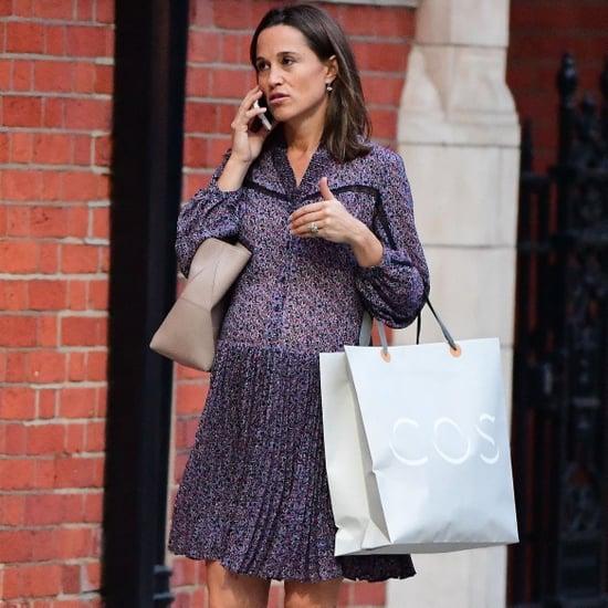 Pippa Middleton Purple Dress October 2018