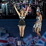 Kylie Minogue gave a performance at the Diamond Jubilee concert.