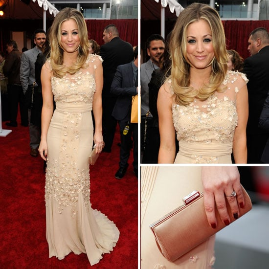 Picture of Big Bang Star Kaley Cuoco on the Red Carpet at the 2012 Peole's Choice Awards: Rate or Hate Their Look!