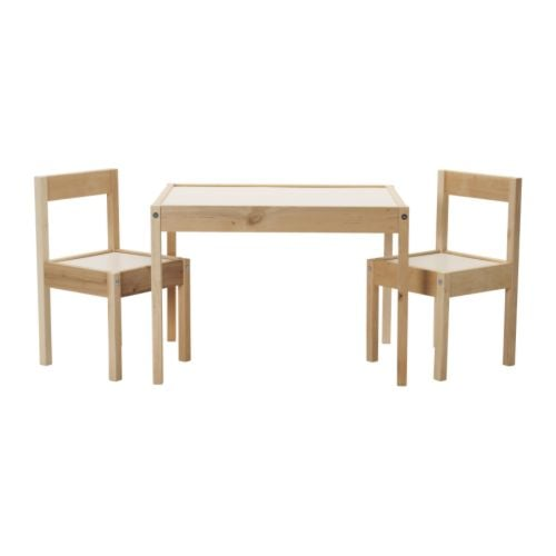 Start With: Latt Children's Table and Chair Set