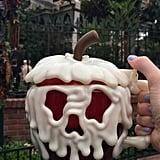 Pumpkin Hot Chocolate in a Poison Apple Mug