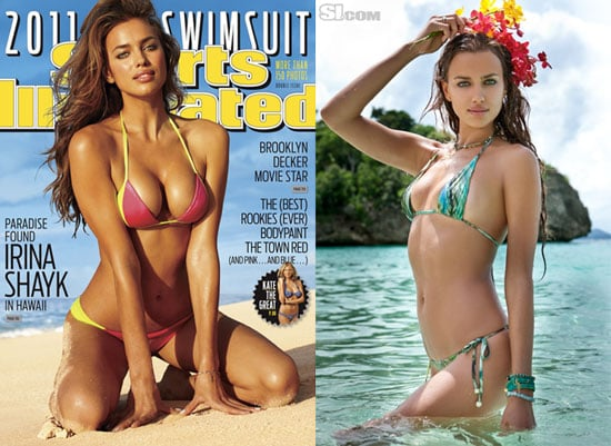 Irina Shayk Is the 2011 Sports Illustrated Swimsuit Issue Cover Girl 2011-02-15 07:37:23