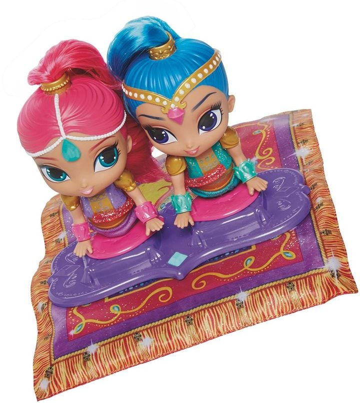 Toys For 4 6 Year Olds : Fisher price shimmer and shine magic flying carpet toy