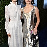 Thomasin McKenzie and Joey King at the 2020 Critics' Choice Awards