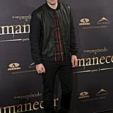 Robert Pattinson stepped out in Madrid.