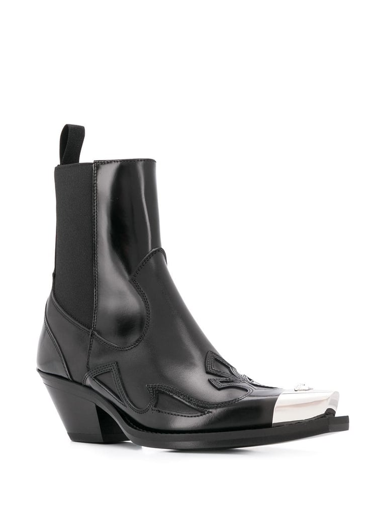 Image result for Contrast Toe Boots