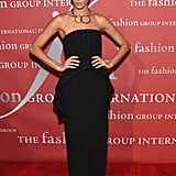 At Fashion Group International's Night of Stars Gala in New York City on Oct. 27.