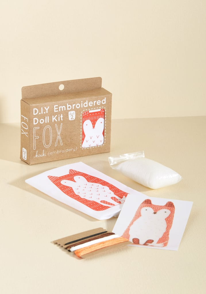 Have Me in Stitches Embroidery Kit in Fox ($22)