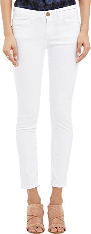 Current/Elliott The Stiletto Skinny Jeans-White ($168)