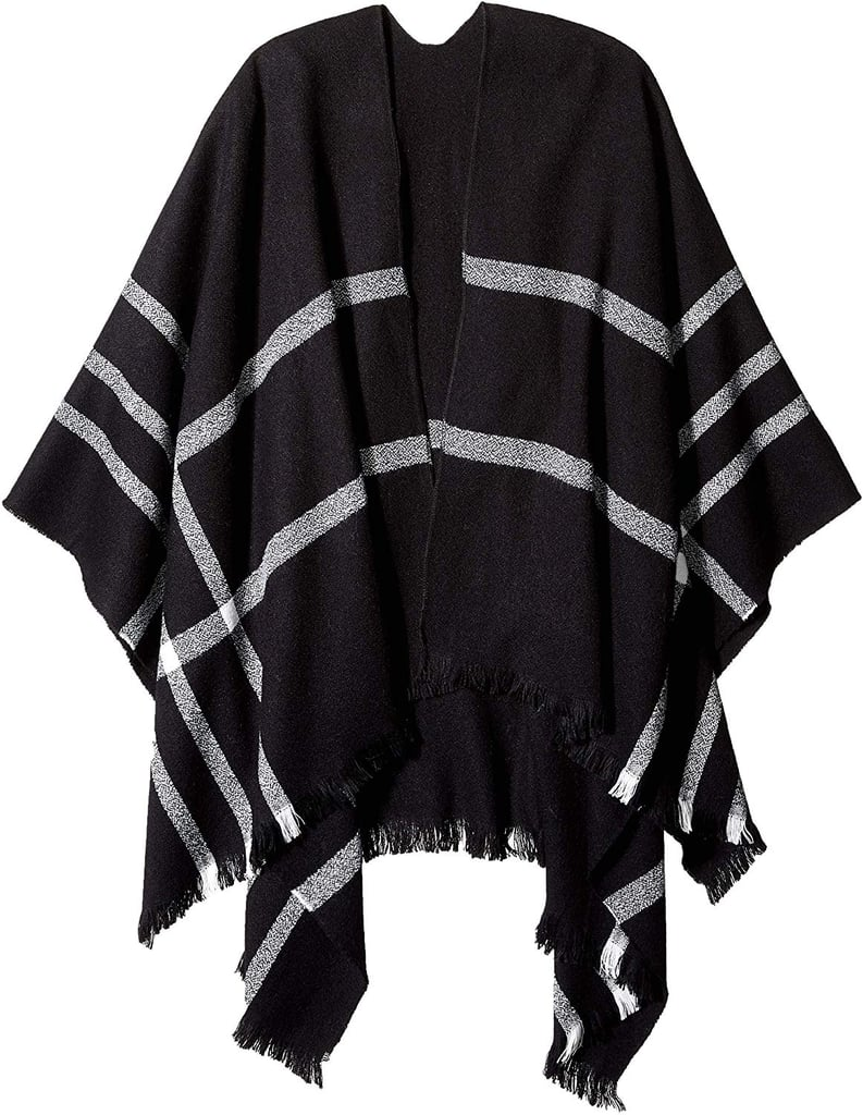 Orchid Row Knit Scarf Poncho