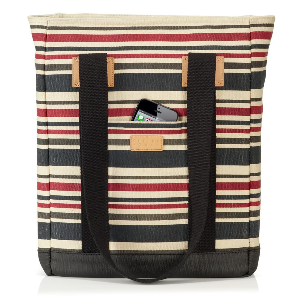 Greene + Gray Striped Tote