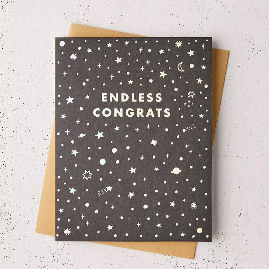 Endless Congrats Graduation Card
