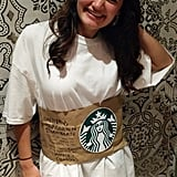 Starbucks cup from Game of Thrones