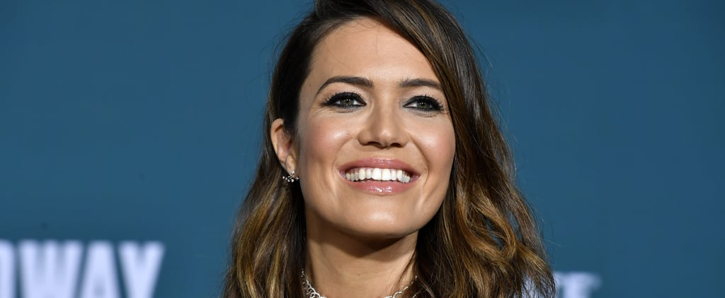 Mandy Moore Breastfeeding Photo as This Is Us's Rebecca