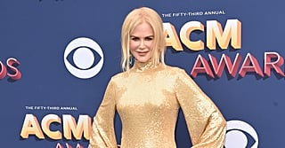 Your Jaw Will Literally Drop When You See the Back of Nicole Kidman's Gold Dress