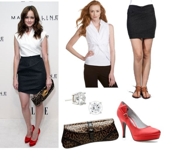 Pictures of Alexis Bledel at 2011 Spring Fashion Week