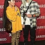 Jenna Ortega and Asher Angel