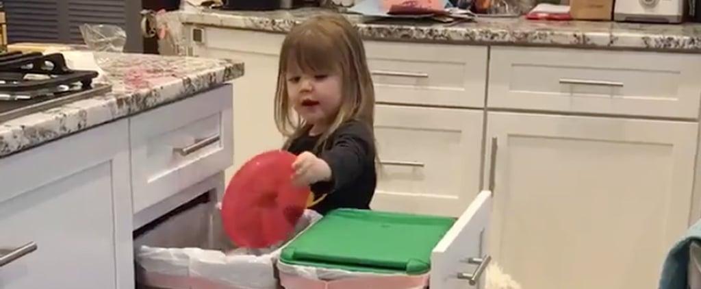 Video of Toddler Singing DMX Song