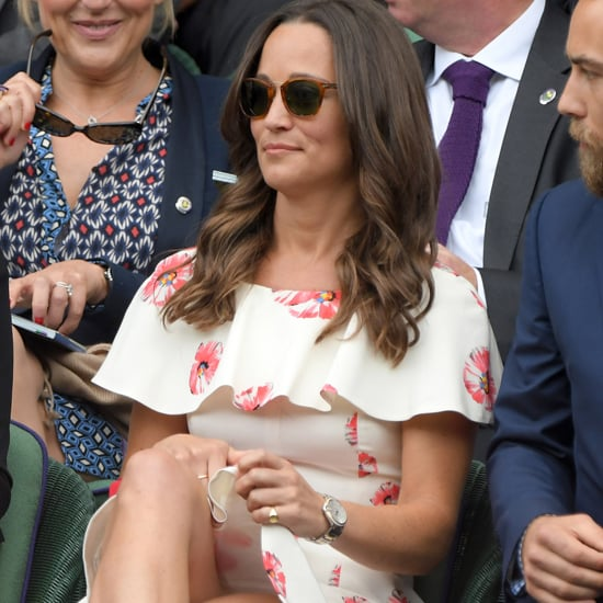 Pippa Middleton's Floral Dress at Wimbledon 2016