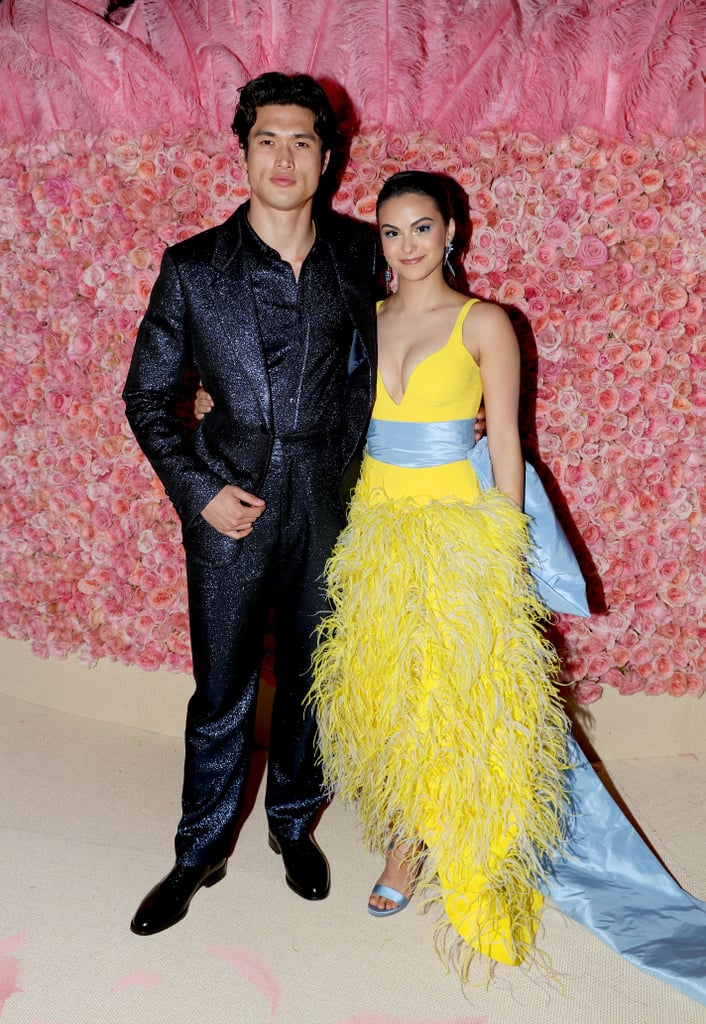 "Camila Mendes made her Met Gala debut this year, and she didn't do it alone. The actress attended the star-studded event on May 6 with her boyfriend and Riverdale costar, Charles Melton. Fellow costars and couple Lili Reinhart and Cole Sprouse were also at the event after memorably taking their relationship public at the 2018 Met Gala. (Madelaine Petsch, yet another costar, was also in attendance.) In an interview with POPSUGAR ahead of the Met Gala, Camila expressed her excitement about her Met Gala debut. On the exaggerated camp theme inspired by Susan Sontag's 1964 essay ""Notes on 'Camp,'"" Camila said, ""It's just a perfect year for me to come into this because our show is camp. It's a perfect first Met for me."" See photos of the couple's glamorous red carpet appearance ahead.      Related:                                                                                                           These Met Gala Looks Are Dramatic Enough to Entertain You For the Rest of the Year"