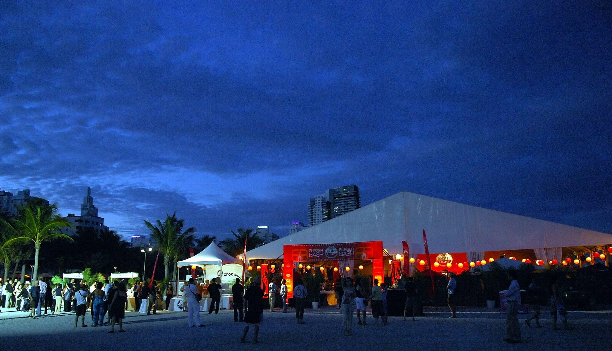 The South Beach Wine & Food Festival Burger Bash on February 21, 2008