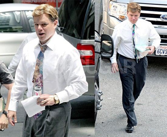 Matt Damon Is Fat But Still Powerful