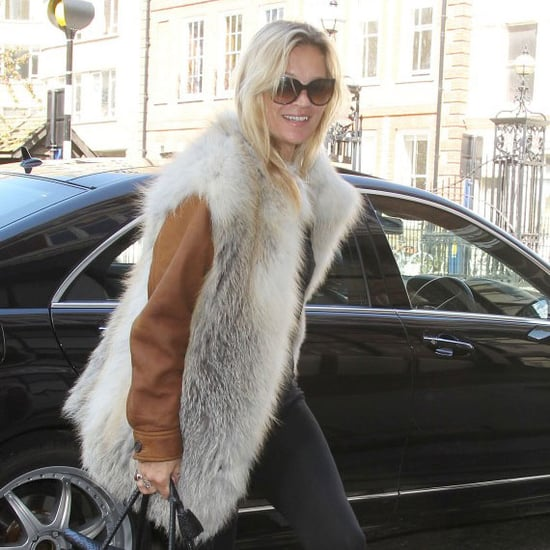 Kate Moss Carries Mulberry Bayswater Bag Pictures