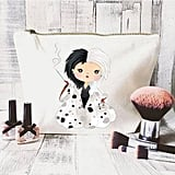JustBeBohoCollective Disney Quote Makeup Bag — Cruella de Ville