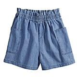 POPSUGAR Paperbag-Waist Shorts