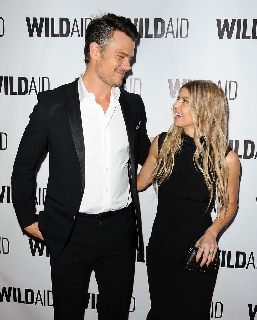 All eyes were on Fergie and Josh Duhamel when they hit the red carpet at the WildAid Gala in LA on Saturday night. The duo, who tied the knot in 2009, shared a couple of cute moments upon arriving at the fete, which also included Paula Abdul. The event benefited the conservation charity, which focuses on ending the illegal wildlife trade. Josh has been all over our radar lately. Just before Halloween, the actor stopped by The Ellen DeGeneres Show dressed up as Lloyd Christmas and showed off an impressive Jim Carrey impression, and during a recent appearance on The Late Late Show, Josh revealed that his first words to his wife weren't exactly romantic. Keep reading to see pictures from Fergie and Josh's latest red carpet appearance, and then take a look at their sweetest moments together.