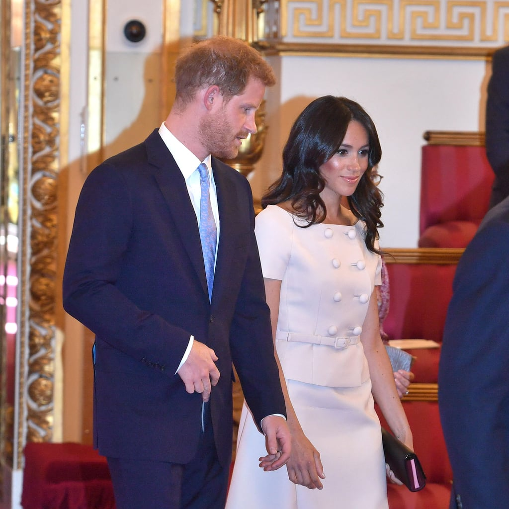 Meghan Markle Wears Bright Highlighter June 2018