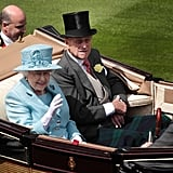 The Queen and Prince Phillip attend Royal Ascot celebrations.