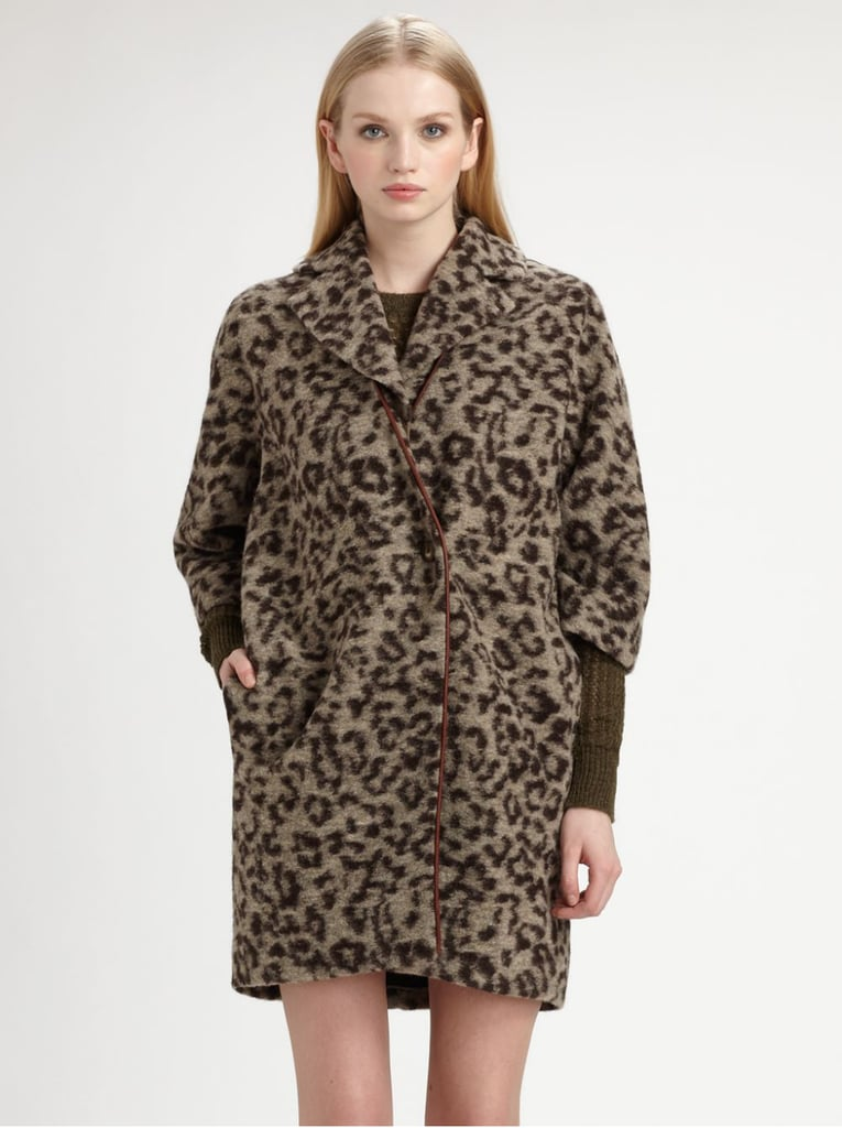 One of our favorite parts of the Thakoon Addition Pre-Fall 2013 lineup? The bold leopard-print coats ($660) that seriously make you rethink that plain black one you've been wearing around.