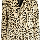 Topshop Casual Leopard Faux Fur Coat ($170)