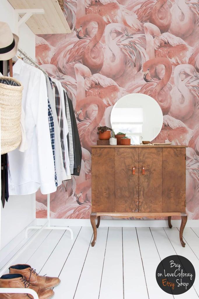 Flamingo Wallpaper ($220)