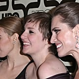 Zosia Mamet, Lena Dunham, and Allison Williams