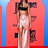 Joan Smalls at the 2019 MTV Europe Music Awards