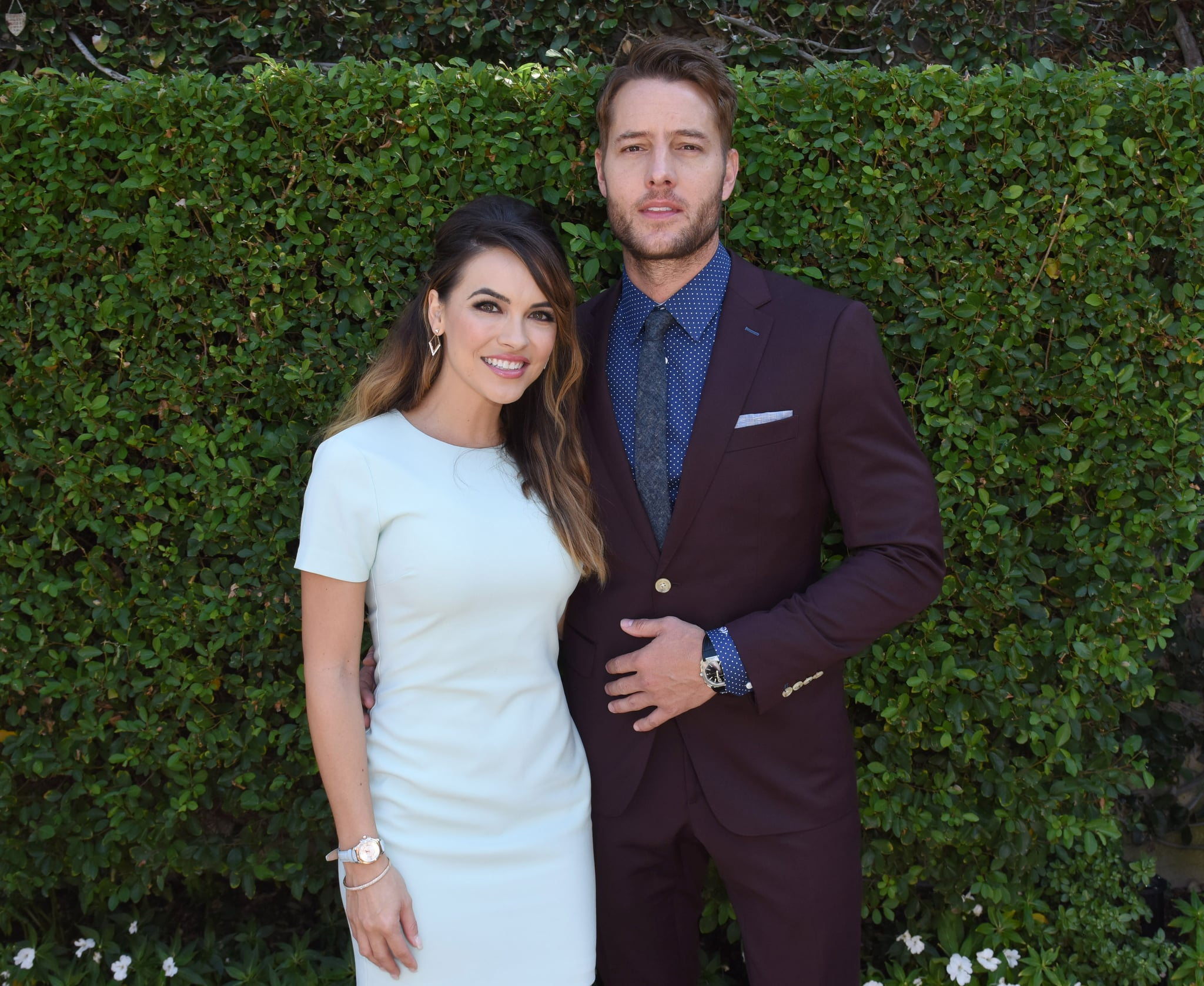 Justin Hartley and actress Chrishell Stause are married