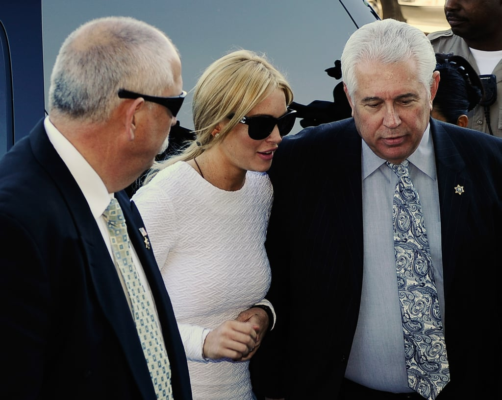 Pictures of Lindsay Lohan in Court Feburary 2011