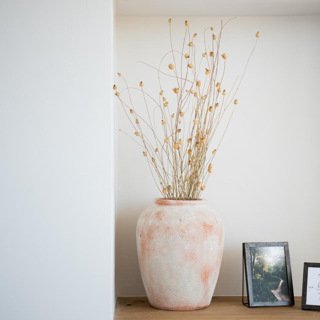 Aged Terracotta Vase