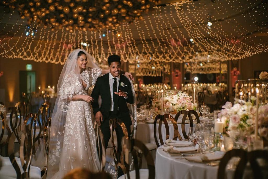 408919792f4 Chanel Iman Zuhair Murad Wedding Dress