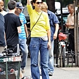 Katie Hangs in the City as Tom and Suri Do Disney