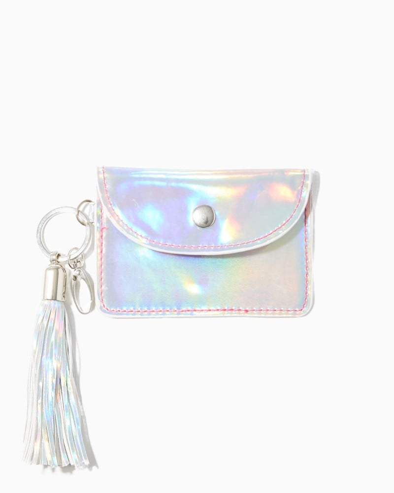 A coin purse ($10) for anyone who can't help but love to shop.